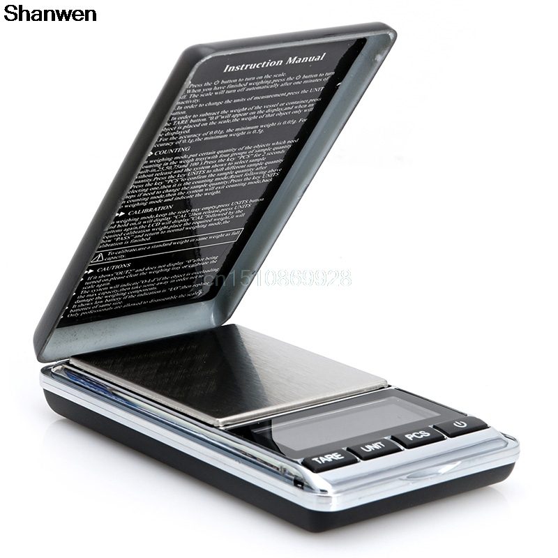 1000g x 0.1g Digital Scale Mini Electronic Jewelry Diamond Pocket Jewelry Gram