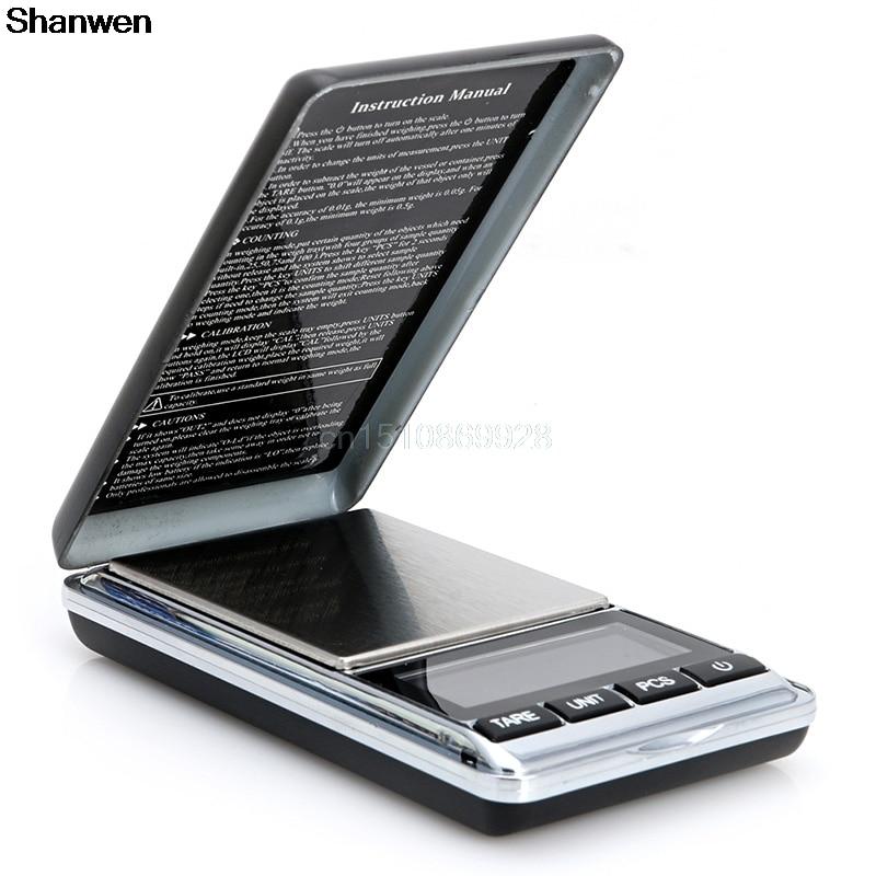 1000g x 0.1g Digital Scale Mini Electronic Jewelry Diamond Pocket Jewelry Gram 1000g