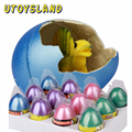 UTOYSLAND Set of 12 Hatching and Growing Dinosaur Eggs Add Water Magic Cute Children Toys - Color Random