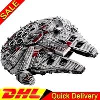 LEPIN 05033 5265Pcs Star Battle Ultimate Collector S Millennium Falcon Building Block Set Bricks Legoings Toys
