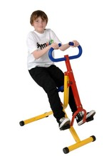 Children horse riding machine indoor  Upright Cycling Bike with electronic meter Fitness lose weight   non-toxic