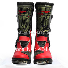 Pro-Biker B1007 Men's Leather Motocross Driving Racing Off-road automobile Boots motorcycle sports Shoes BPB07