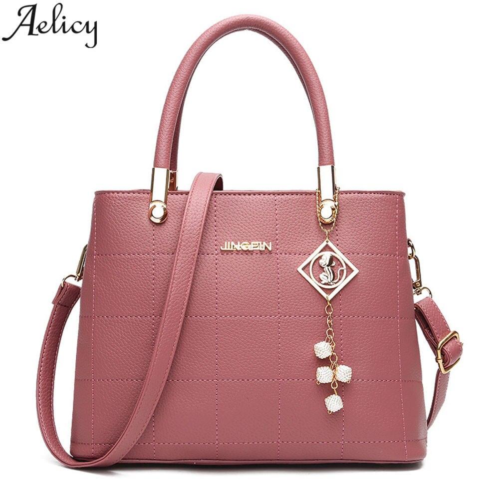 c8d732b0cec1 Aelicy Top-handle Bags Handbags Women Famous Brands Women Leather Handbags