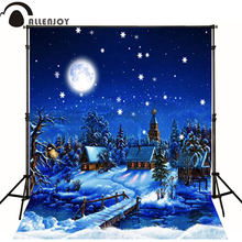 2.15M*1.5M(7FT*5FT) photo studio floor Magic cartoon lonely Christmas backgroundsZZ S-187