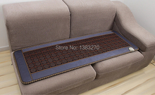 2017 Wholesale Massage Bed Jade Stone Mattress Jade Far Infrared Massage Mat Made In China free gift sleeping eye cover 50*150CM