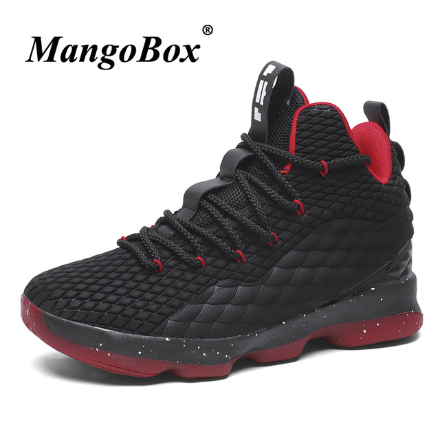 New Cool Unisex Basketball Shoes High Top Sport Shoes Basketball Brand  Designer Sneakers Gym Male Outdoor Basketball Shoes Men 34cd6c4c458a