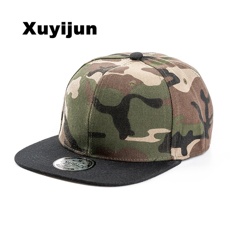 Xuyijun 2017 New Styles camo Snapback Hats camouflage hip hop men women Casquettes caps bones bboy baseball caps solid hat the new bonnet embroidery hat men s winter beanie man skullies knitted wool beanies men winter hats hip hop caps autumn gorros