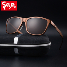 SAYLAYOแฟชั่นอลูมิเนียมแมกนีเซียมแว่นตากันแดดPolarizedผู้หญิงผู้ชายแว่นตาSunสำหรับขับรถUV400แว่นตา