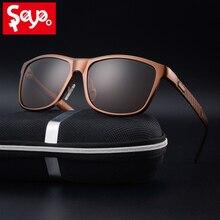 Солнцезащитные очки SAYLAYO поляризационные для мужчин и женщин, модные алюминиево магниевые солнечные очки для вождения с защитой UV400
