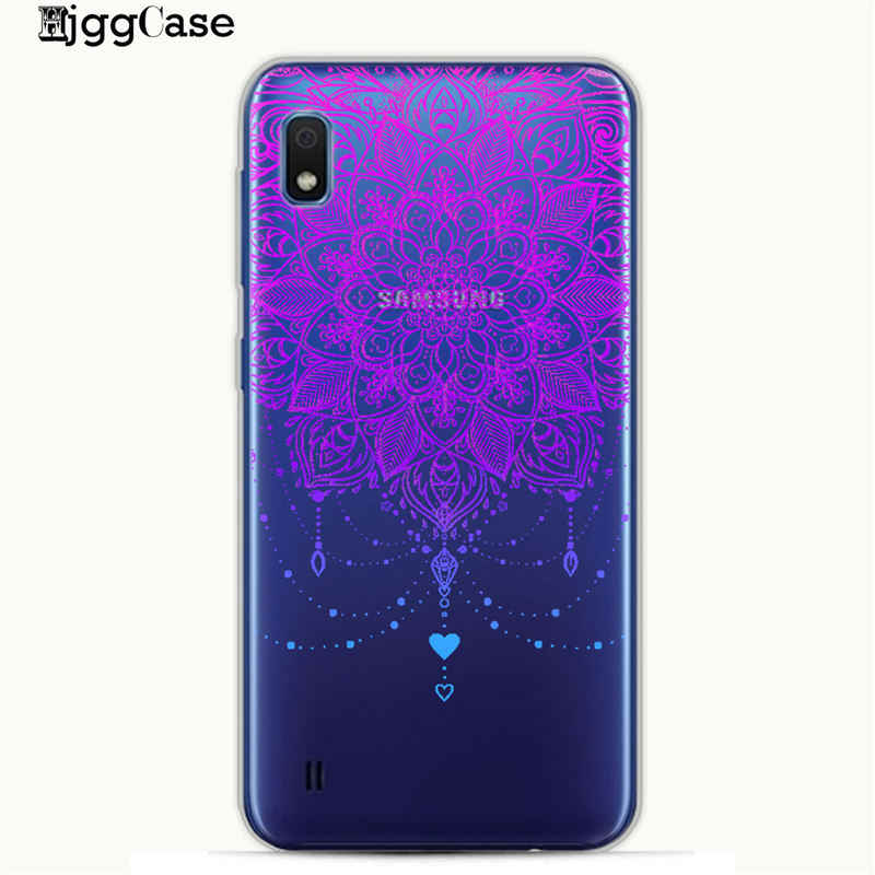 Coloured feather flower Phone Cover Case For Samsung A10 A20 A30 A50 A70 A6 A8 A7 A9 2018 Cover For Cover S10 S10e S8 S9 Plus