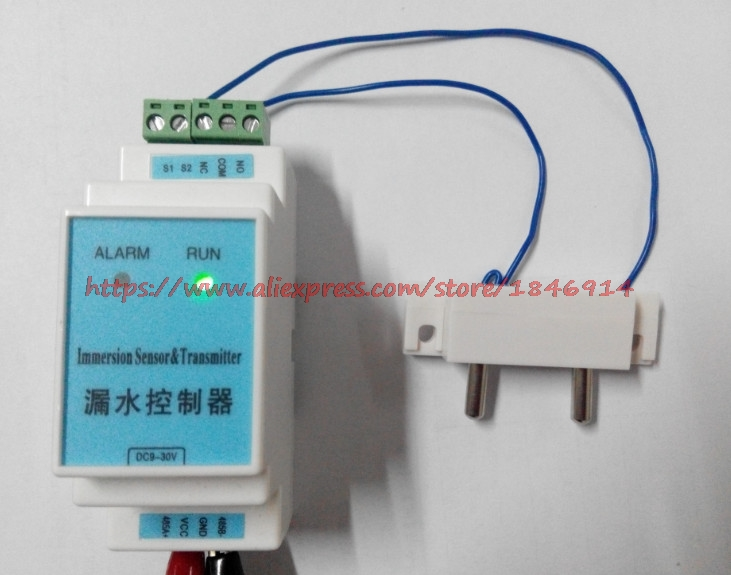 Leak sensor, Immersion detector, Flooding alarm, Leak detection electrode, Alarm control instrument