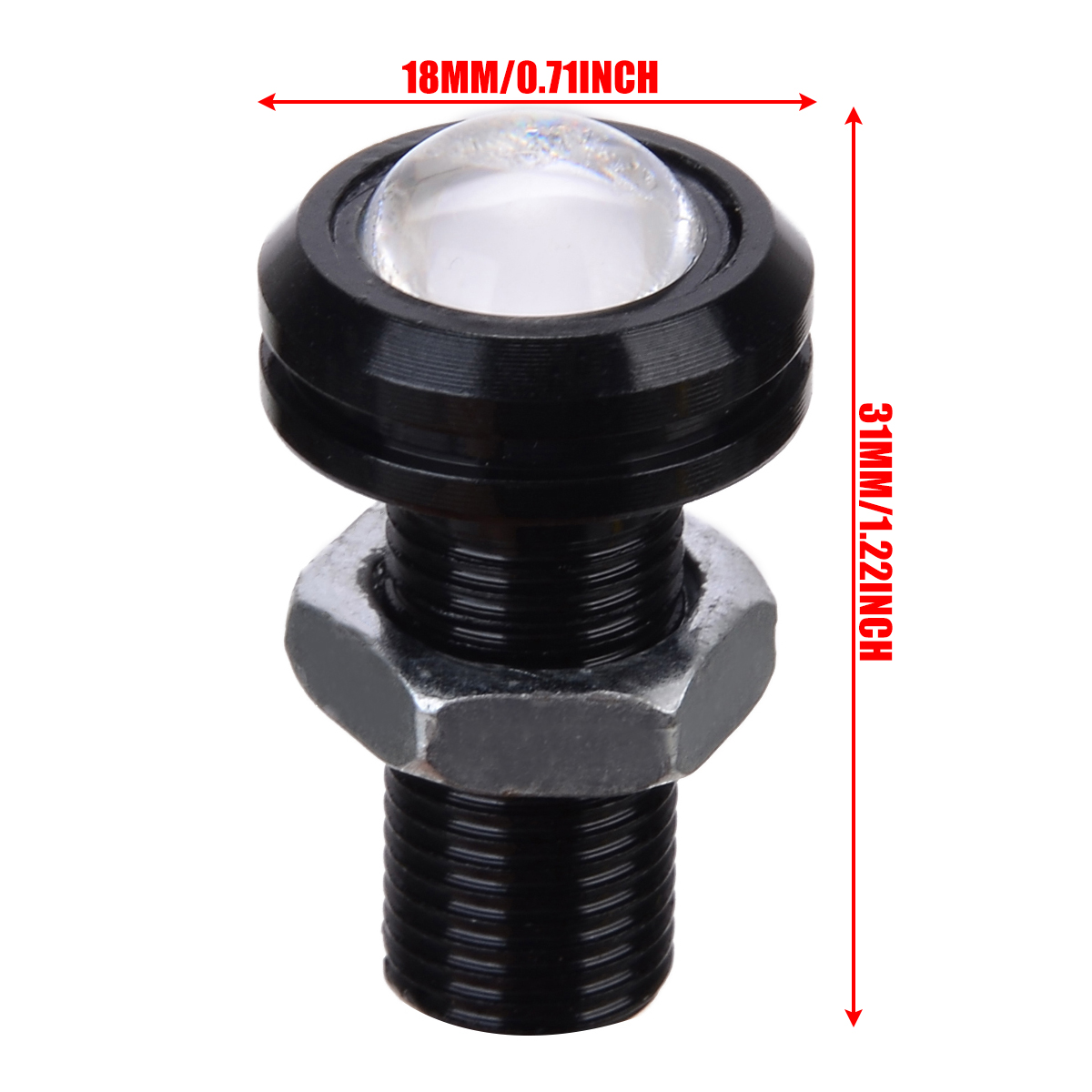 Image 5 - Universal Boat Drain Plug Light Lamp 4pcs/set Blue LED Waterproof Underwater Fish Boat Light Parts Accessories-in Marine Hardware from Automobiles & Motorcycles