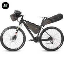 Rockbros велосипедная сумка, водонепроницаемая, непромокаемая, серия, велосипедная сумка, велосипедная, передняя рама, труба, седельная сумка, сумка на руль, Аксессуары для велосипеда