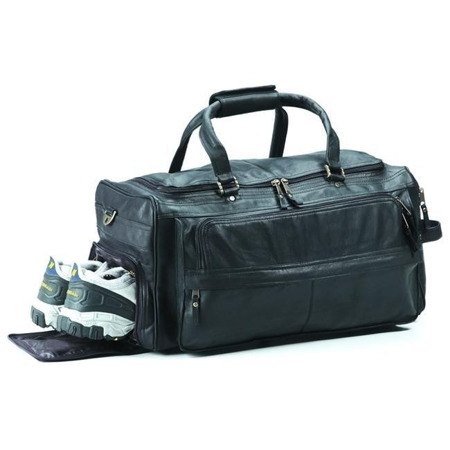 Clava AG-10 Multi-Compartment Duffel - Vachetta Cafe clava 709 hip to be square backpack vachetta cafe