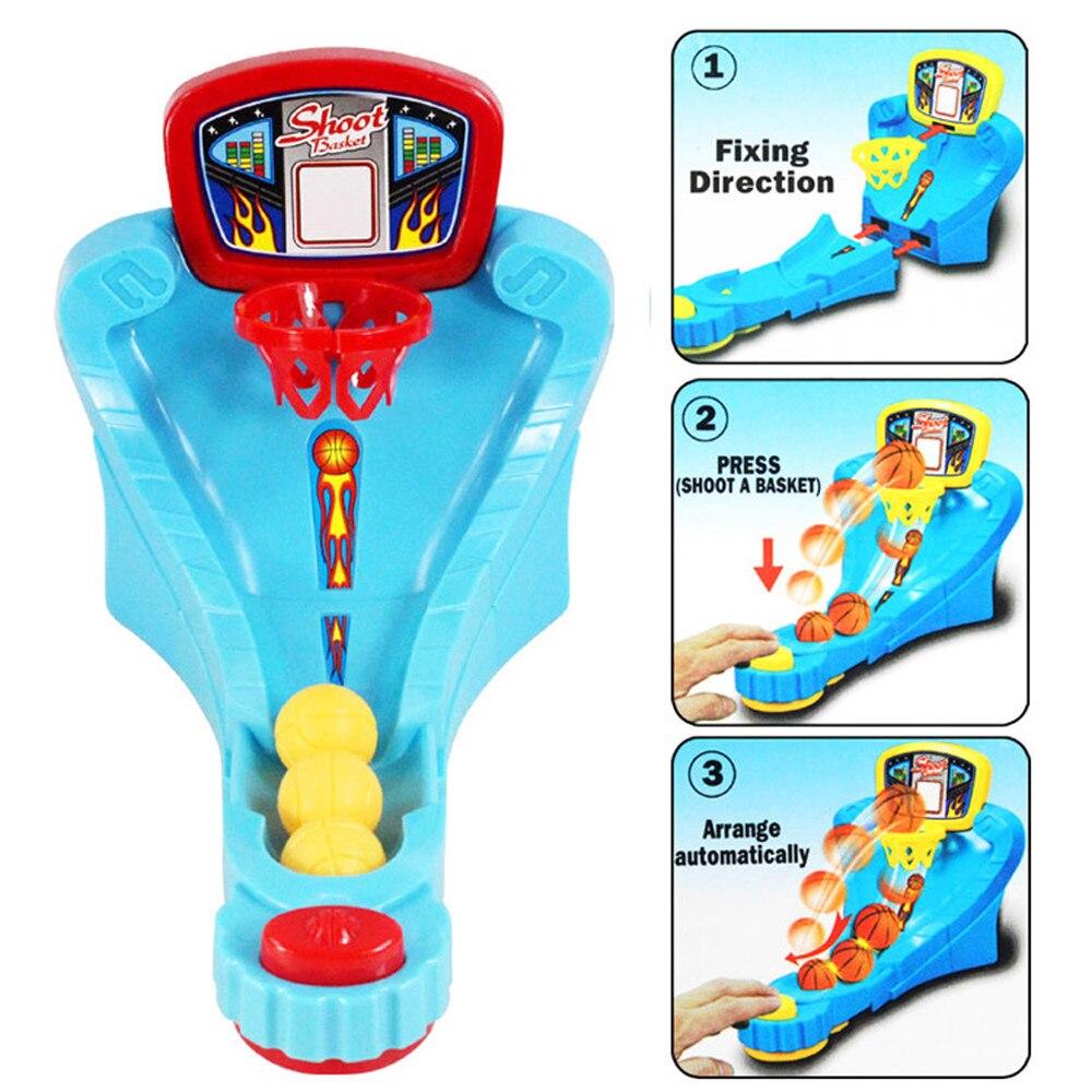 Kid Fun Toy Gift Anti-stress Boy Girl Adult Novelty Mini Finger Desktop Originality Basketball Boy Girl Christmas Toy Gifts