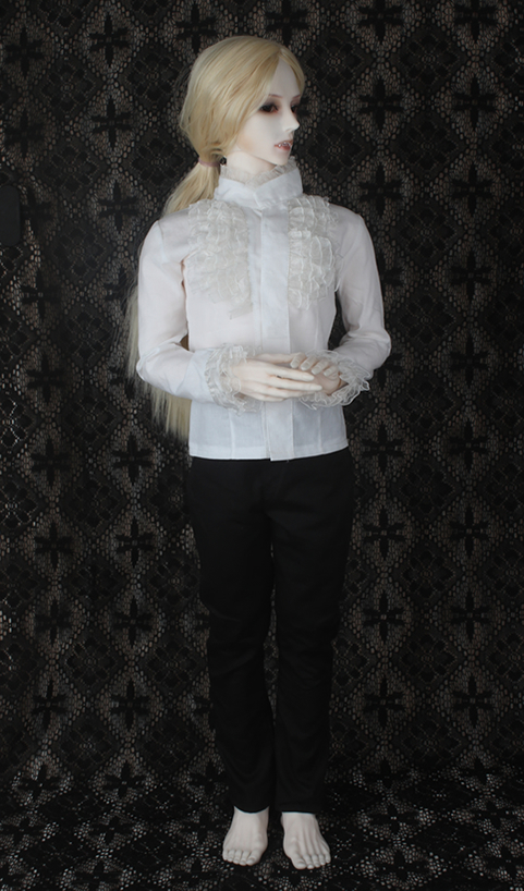 doll accessories bjd clothes 1/3 Bjd 70cm doll male suit set white shirt black pants other size can be customized paul mitchell крем для укладки средней фиксации mitch clean cut 10 мл