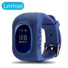 2016 Kid Safe GPS Q50 smart Watch Wristwatch SOS Call Location Finder Locator Tracker for Child Anti Lost Monitor Baby PK Q90