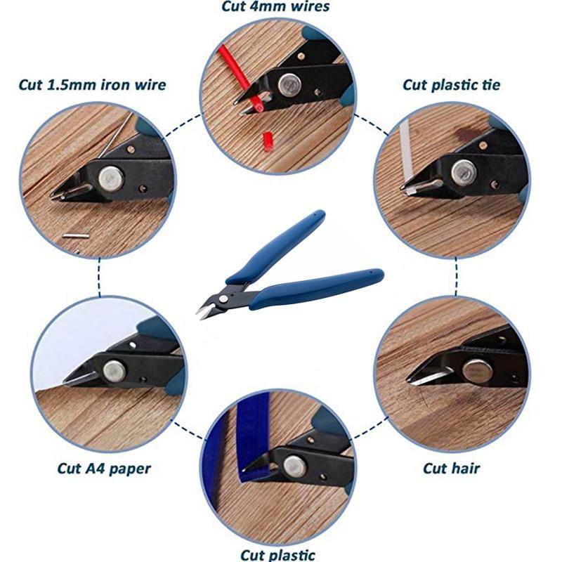 KALAIDUN плоскогубцы, кусачки для электрической проволоки, кусачки для кабеля, бокорезы, кусачки, мини диагональные плоскогубцы, многофункциональный инструмент, ручные инструменты