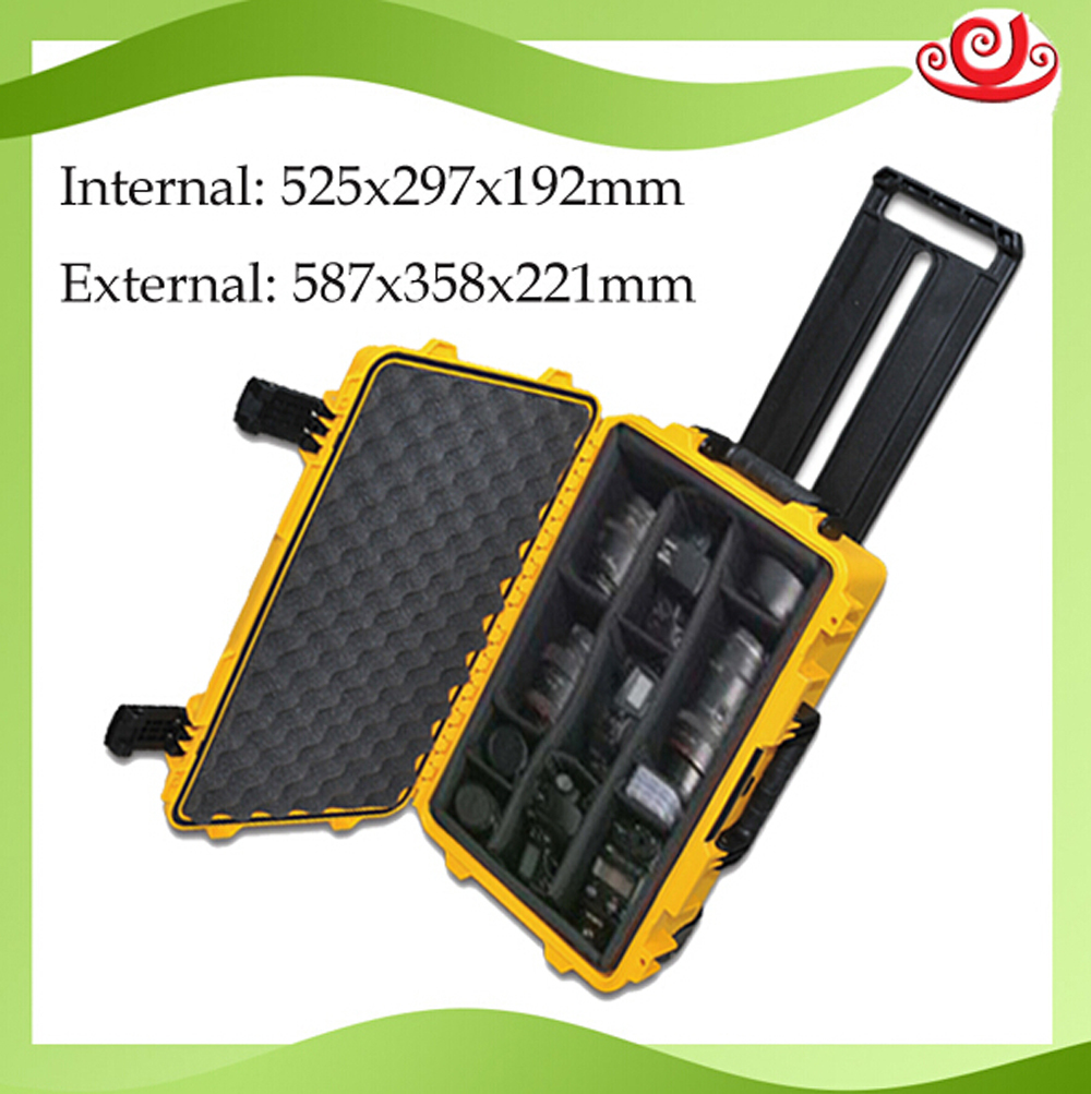 waterproof tool case equipment case trolley Sealed toolbox Photographic Instrument camera case with pre-cut foam tool case toolbox trolley impact resistant sealed waterproof wheel case photographic equipment box camera case with pre cut foam