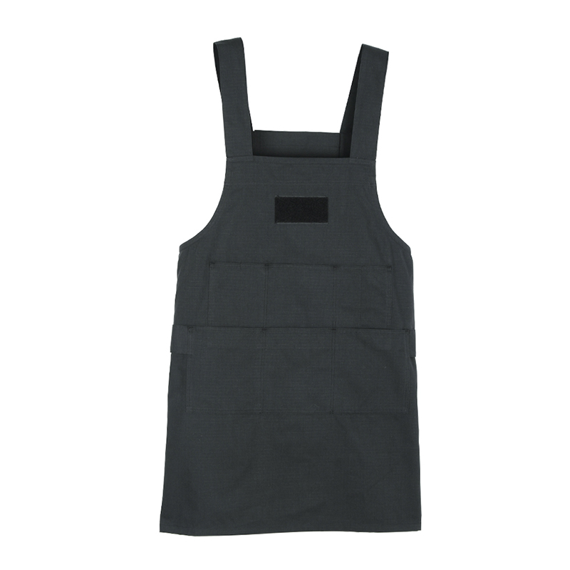 Tactical Work Apron Durable Tooling Apron with Pockets Quick Release Buckle Nylon Aprons