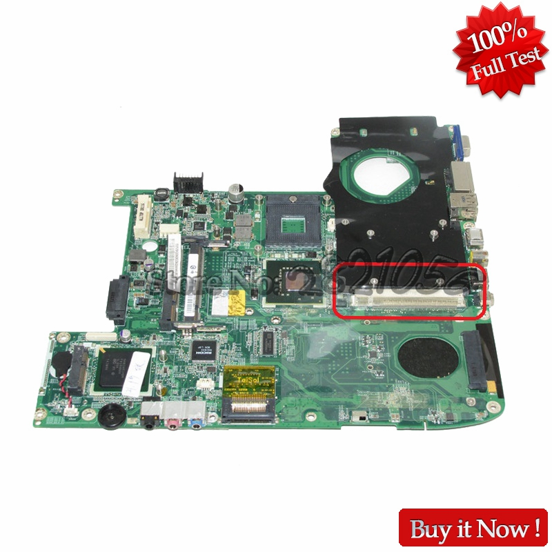 NOKOTION MBAGW06002 DA0ZD1MB6F0 MB.AGW06.002 For acer Aspire 5920G Laptop Motherboard PM965 DDR2 With Graphics Slot nokotion je40 cp mb for acer aspire 4741 4741g laptop motherboard 48 4gy02 051 hm55 ddr3 gt540m