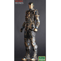 Iron Man Mark XLI Bones Doll PVC Action Figure Collectible Model Toy 30cm KT2521