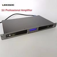 Leicozic DT2150 digital amplifiers dsp power amplifier 250w @4OHM software control 1u power amplifier 150w @8ohms Rack Amp Stage
