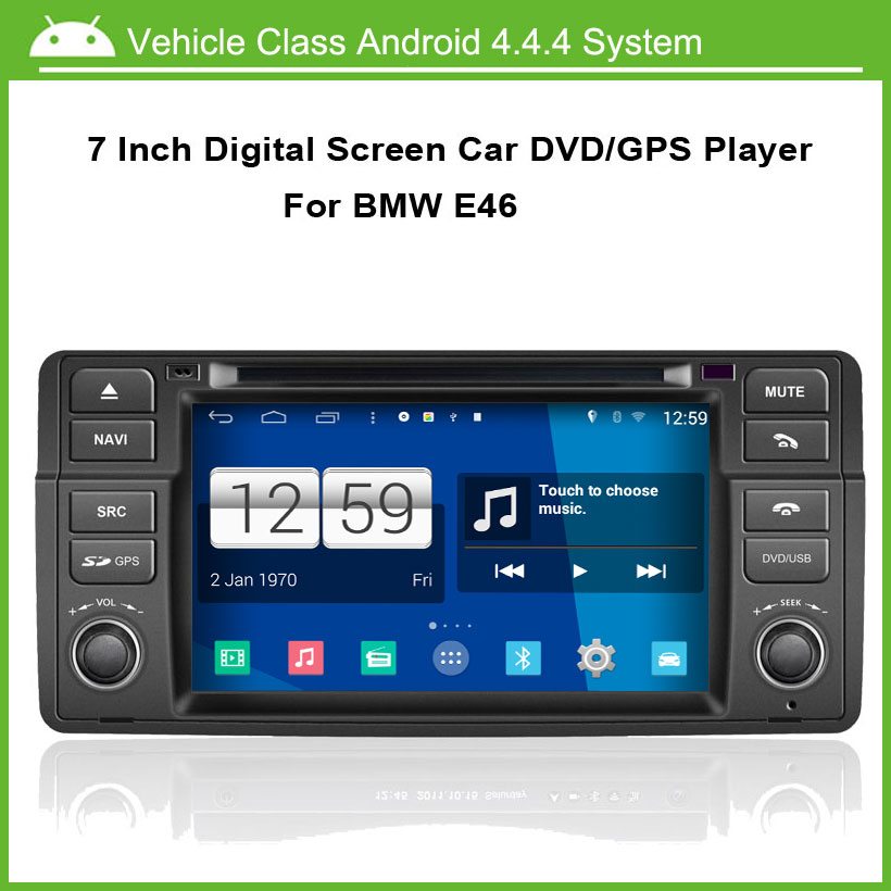 Android 4.4.4 System Car DVD/GPS player FOR Car DVD For BMW 3 Series E46 1998-2005