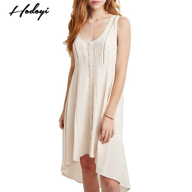 Modas de vestidos de un solo alto
