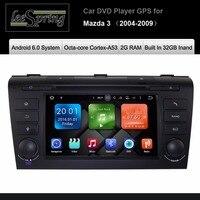 Android 6.0 CAR DVD Player for MAZDA 3 2004 2009 CAR RADIO GPS Navigation