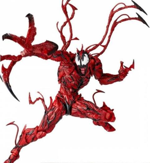 Galleria fotografica 16cm Marvel Spiderman venom avengers Action figure Anime Doll PVC Collection Model Toy for friends gift