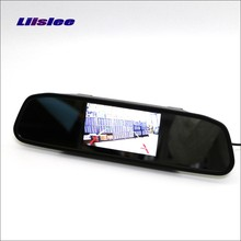 Liislee For Mercedes Benz ML250 ML350 ML400 ML550 Rearview Mirror Car Monitor Screen Display HD TFT