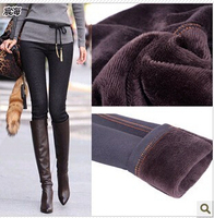 Wholesale Winter 2015 New Thin Jeans Woman Warm Thicken Pencil Heavyweight Ladies Jean Plus Size XXXL