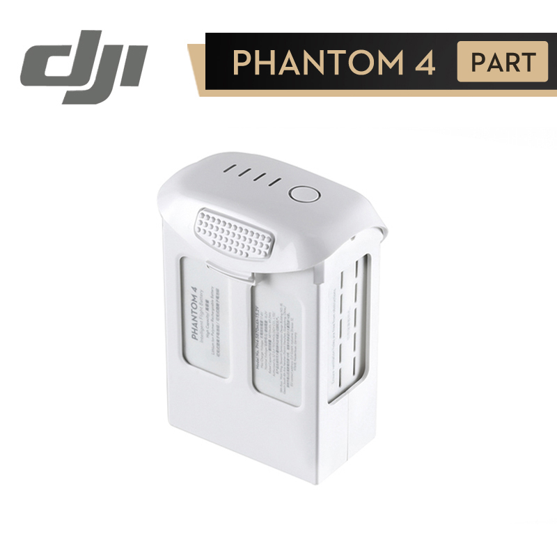 цена на DJI Phantom 4 Pro Battery Phantom 4 Series Advanced Intelligent Flight Battery Original Accessories ( 5870 mAh High Capacity )