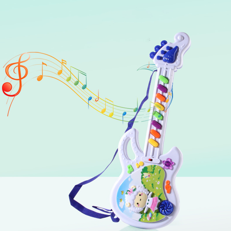 Children's Educational Science Toy Musical Instrument Keyboard Toy For Kids Ukulele Guitar