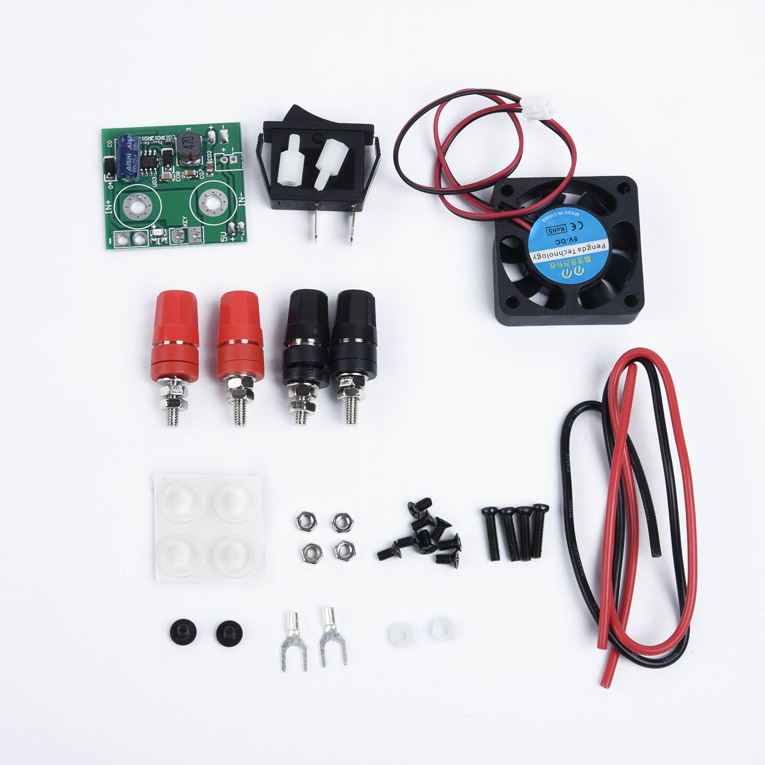 Image 3 - DPS3005 Power Supply Shell DPS3003 DPS5005 DP30V5A DP30V3A LCD DP20V2A Digital Black Programmable Module DP50V5A-in Switching Power Supply from Home Improvement