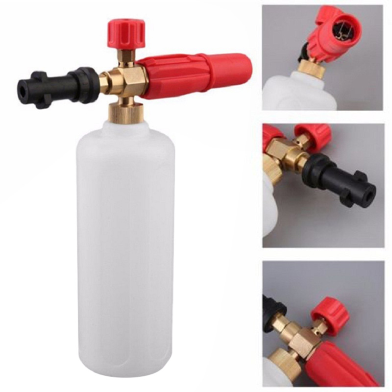 Convenient Snow Foam Lance Car Washer Nozzle Cannon High Pressure Soap Bottle for Karcher K Series HY99 JY31 цена 2017