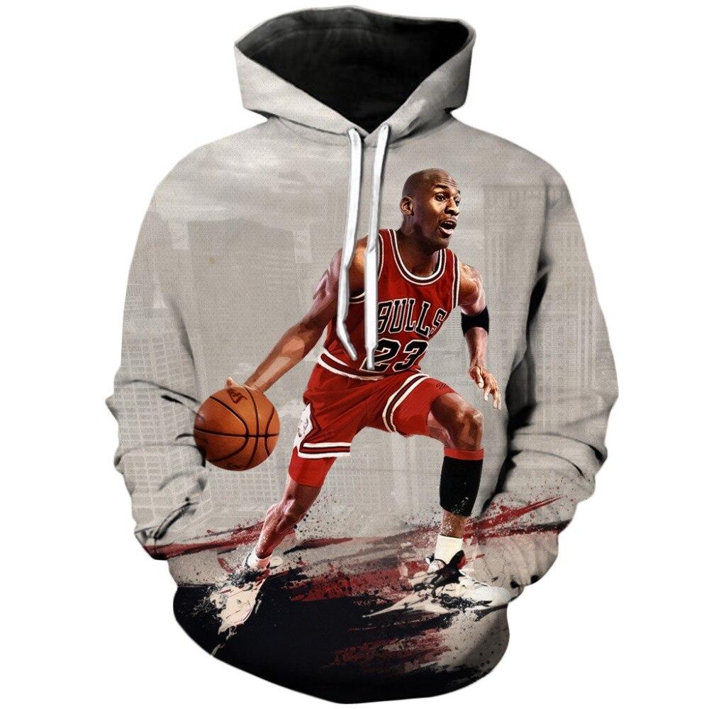 e1eb67dac72 YX GIRL Fashion Jordan Hoodies Men 3d Print Painting Sweatshirt Designer Men's  Sweatshirts Crewneck Men/women's Drop Shipping