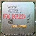 Amd fx 8320 3.5 ghz eight-core 3.5g/8 m/125 w processador soquete am3 + cpu granel pacote fx-8300 (trabalhando 100% frete grátis)
