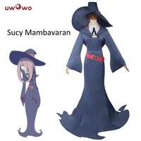 UWOWO Sucy Manbavaran Halloween Cosplay Little Witch Academia School Uniform Anime Little Witch Academy Cosplay Sucy Costume