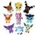 "9-in-1 5.5"" Pokemon Go Plush Toys Eevee Jolteon Flareon Umbreon Leafeon Sylveon Glaceon Espeon Vaporeon 12-16cm Cute Stuffed Toy"