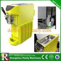New designed hot sale all over the world small capacity mini ice cream maker soft ice cream making machine for sale
