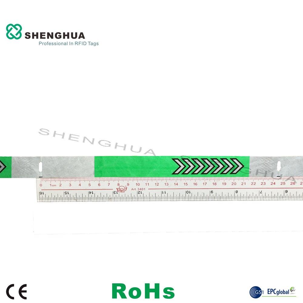 UHF-étiquettes de bracelet étanche Tyvek RFID | Pour fête de parc dattractions, 200 pièces/paquet