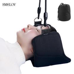 Смелов Мода портативный облегчение боли в шее расслабляющий гамак массажер для шеи пены врасплох подушка для сна подушка для Офис