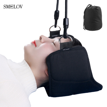 smelov fashion portable Neck Pain Relief relaxing Hammock neck Massager foam napping sleeping pillow cushion For Home Office
