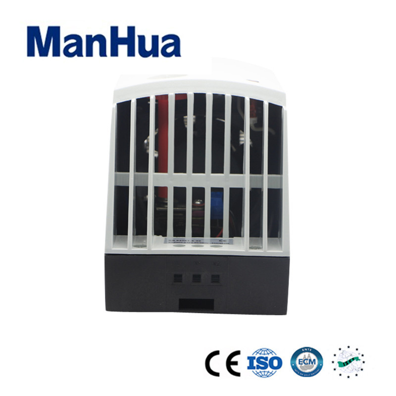 Manhua 100-120VAC 14A MHR027 Safe And Efficient Protect Against Overheating Compact Semiconductor Fan Heater manhua conpact design long service life 230vac 50 60hz 250w hgl 046 fan heater