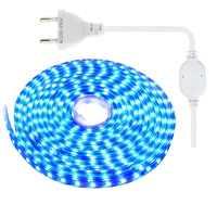 SMD 5050 LED Streifen Licht AC 220 V IP67 Wasserdichte LED-diode band Band 60 leds/m mit EU stecker 1 m 2 m 3 m 5 m 10 m 15 m 20 m 25 m IL