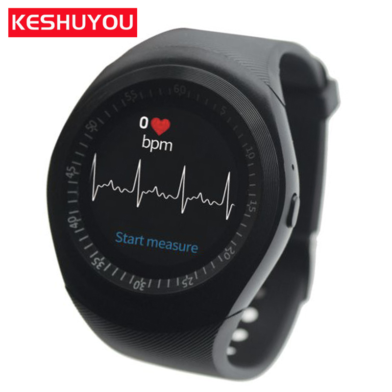 KESHUYOU Bluetooth Smart Watch Smartwatch TS1 Android Phone Call Relogio 2G GSM
