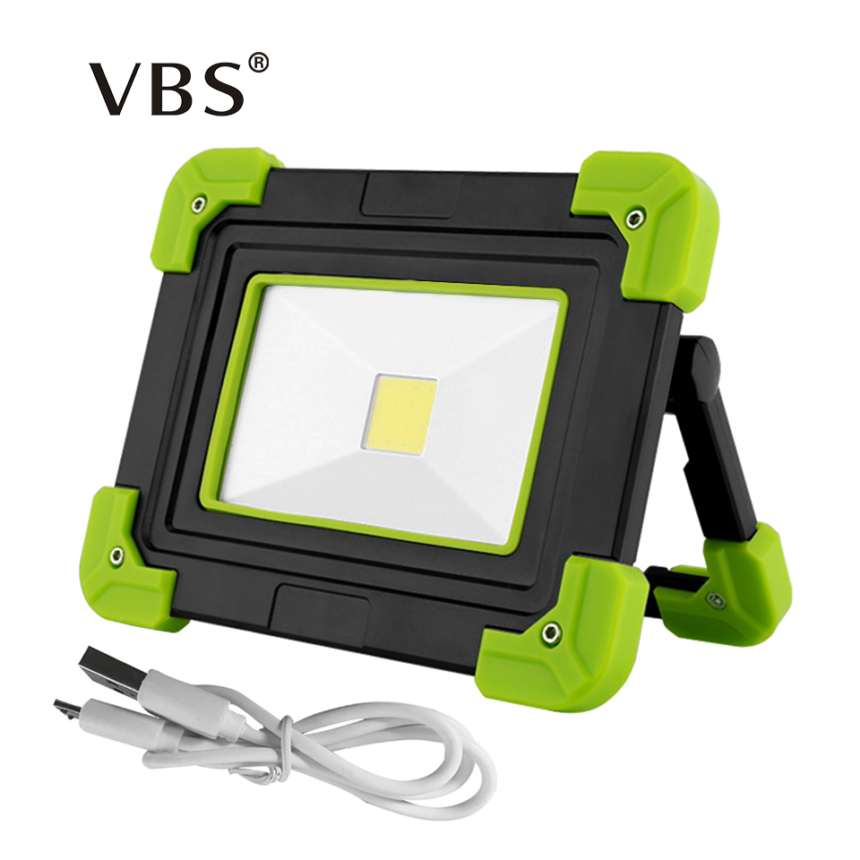 10W Portable Spotlight Waterproof <font><b>Led</b></font> Lantern usb Rechargeable Power Bank Function <font><b>Work</b></font> <font><b>Lamp</b></font> 3 Mode Outdoor Light For Camping image