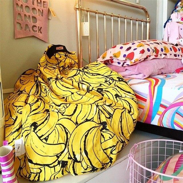 2016 INS Kids Children Super Comfortable Sofa Lazy Banana Bean Bag Filling Sofa Chair BeanBag Photography Toys Bed Room Decor